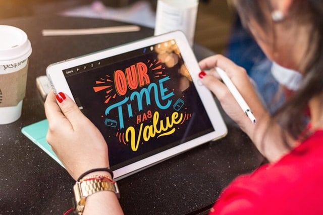tablette temps précieux
